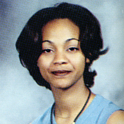 When They Were Young Er Zoe Saldana