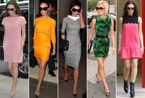 Signature Style Victoria Beckham S Sexy 60s Fashion Entertainmentaroundtheworld